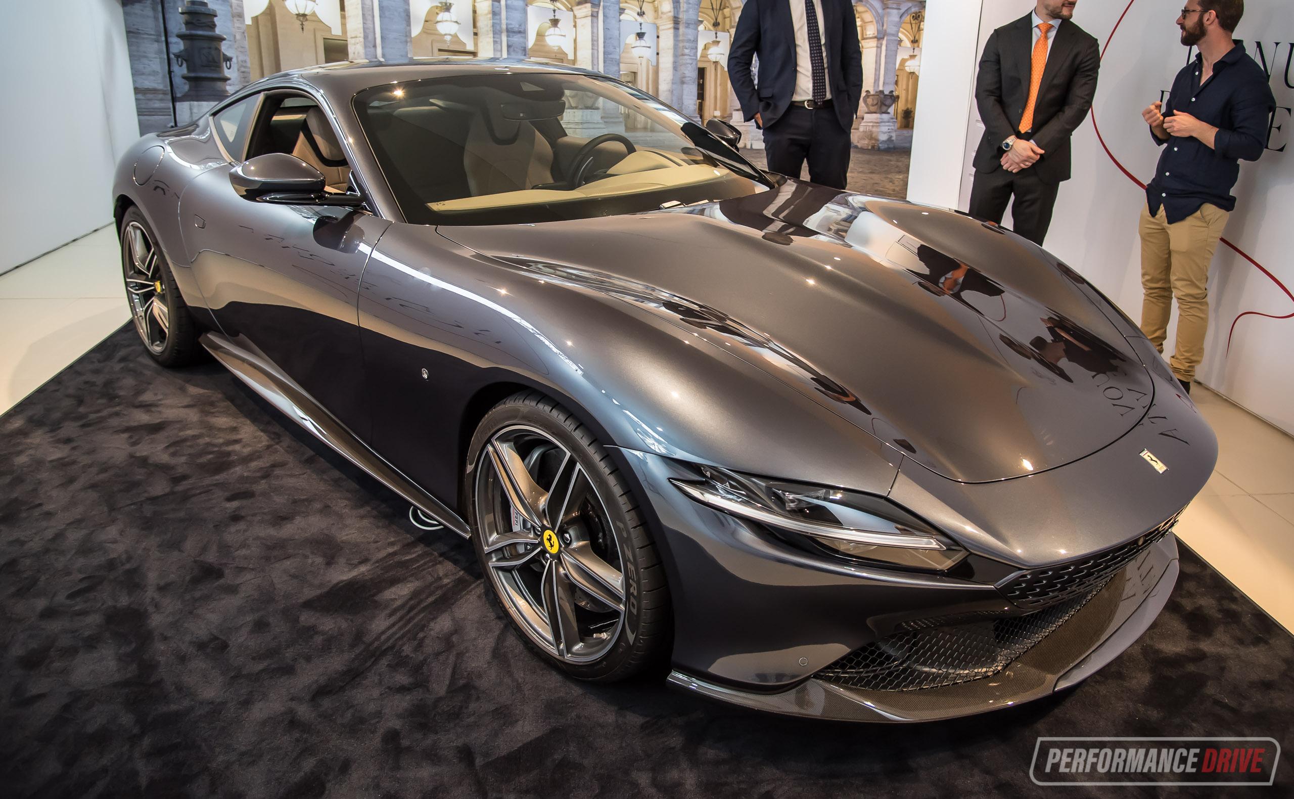 Ferrari Roma Makes Australian Debut On Sale From 409 888 Performancedrive