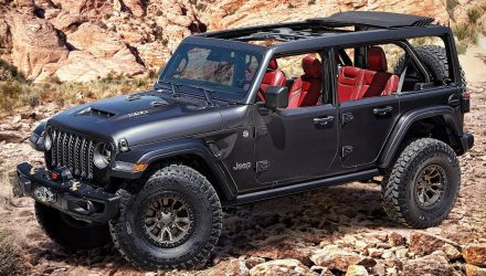 Jeep Wrangler Rubicon 392 Concept unveiled with V8 power