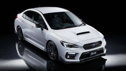 Subaru launches WRX S4 STI Sport # special edition in Japan