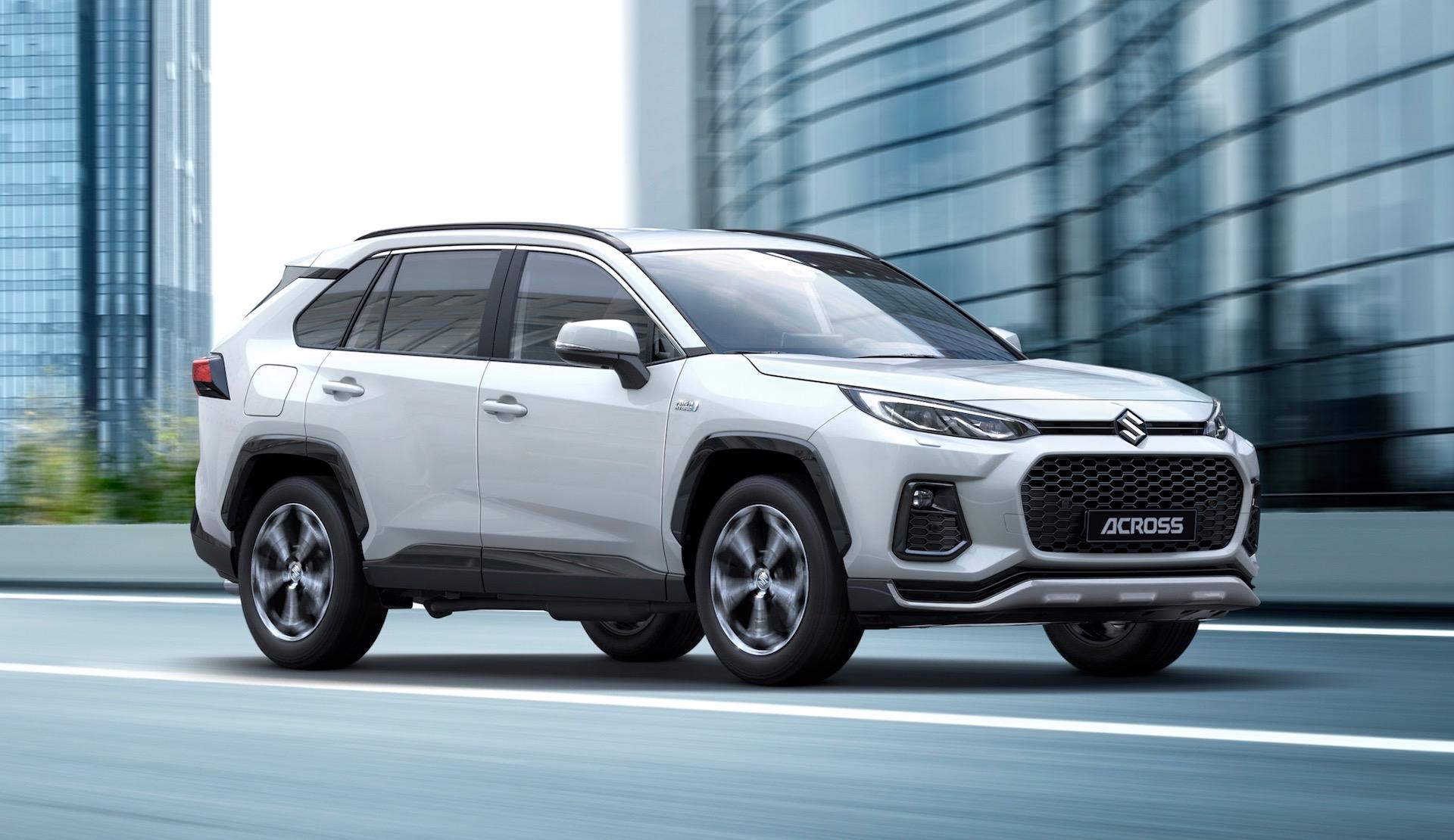Suzuki Across SUV revealed, based on Toyota RAV4