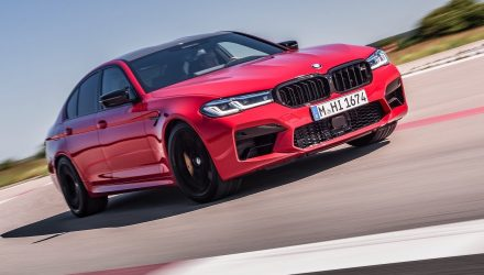 2021 BMW M5 Competition update announced for Australia