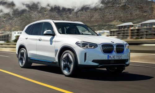 BMW iX3 electric SUV officially revealed, confirmed for Australia