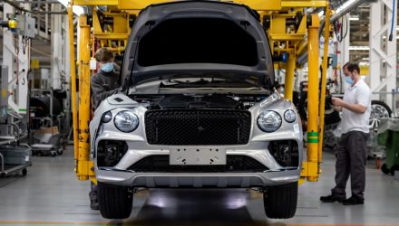 New Bentley Bentayga production begins at updated Crewe facility