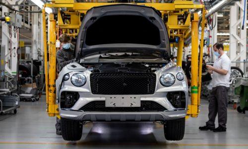 New Bentley Bentayga production begins at updated Crewe facility