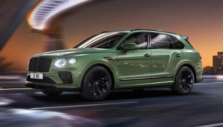2021 Bentley Bentayga revealed with updated design