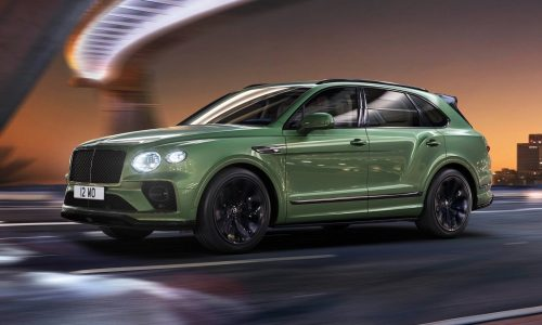 2021 Bentley Bentayga revealed with updated design