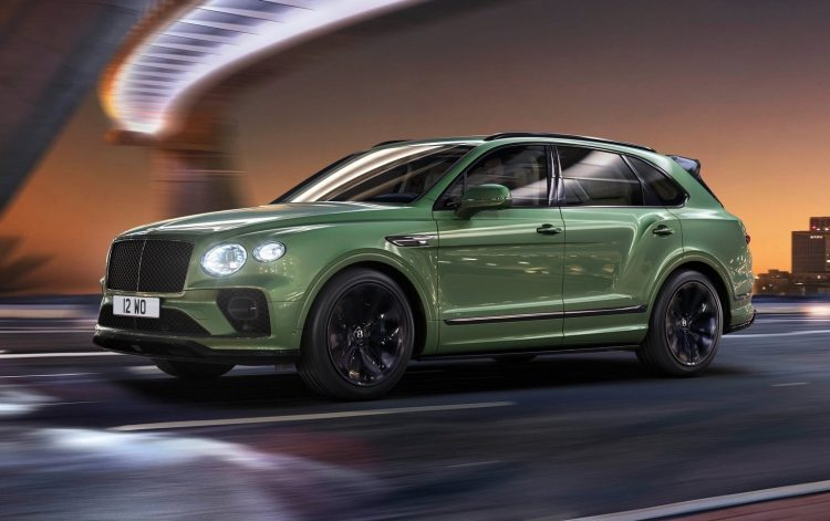 2021年Bentley Bentayga设计更新