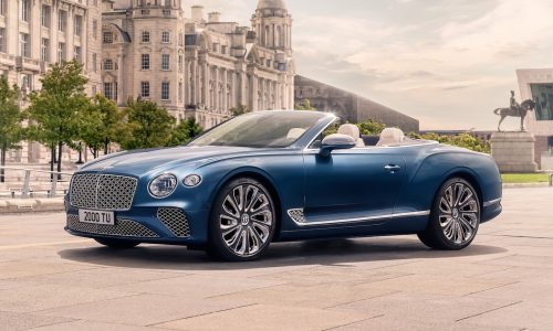 New Bentley Continental GT Mulliner Convertible unveiled