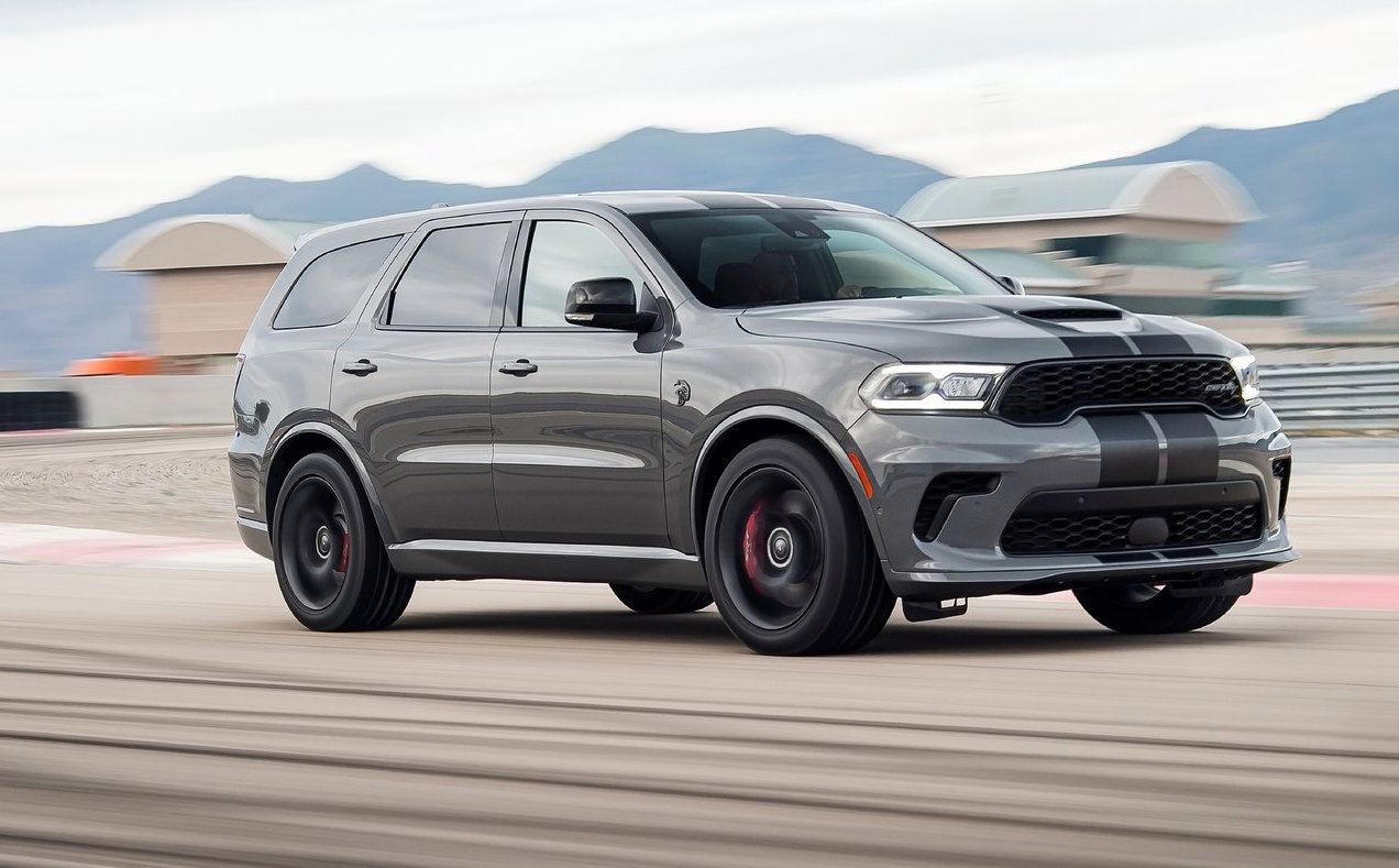 2021 Dodge Durango SRT Hellcat debuts, most powerful SUV ...