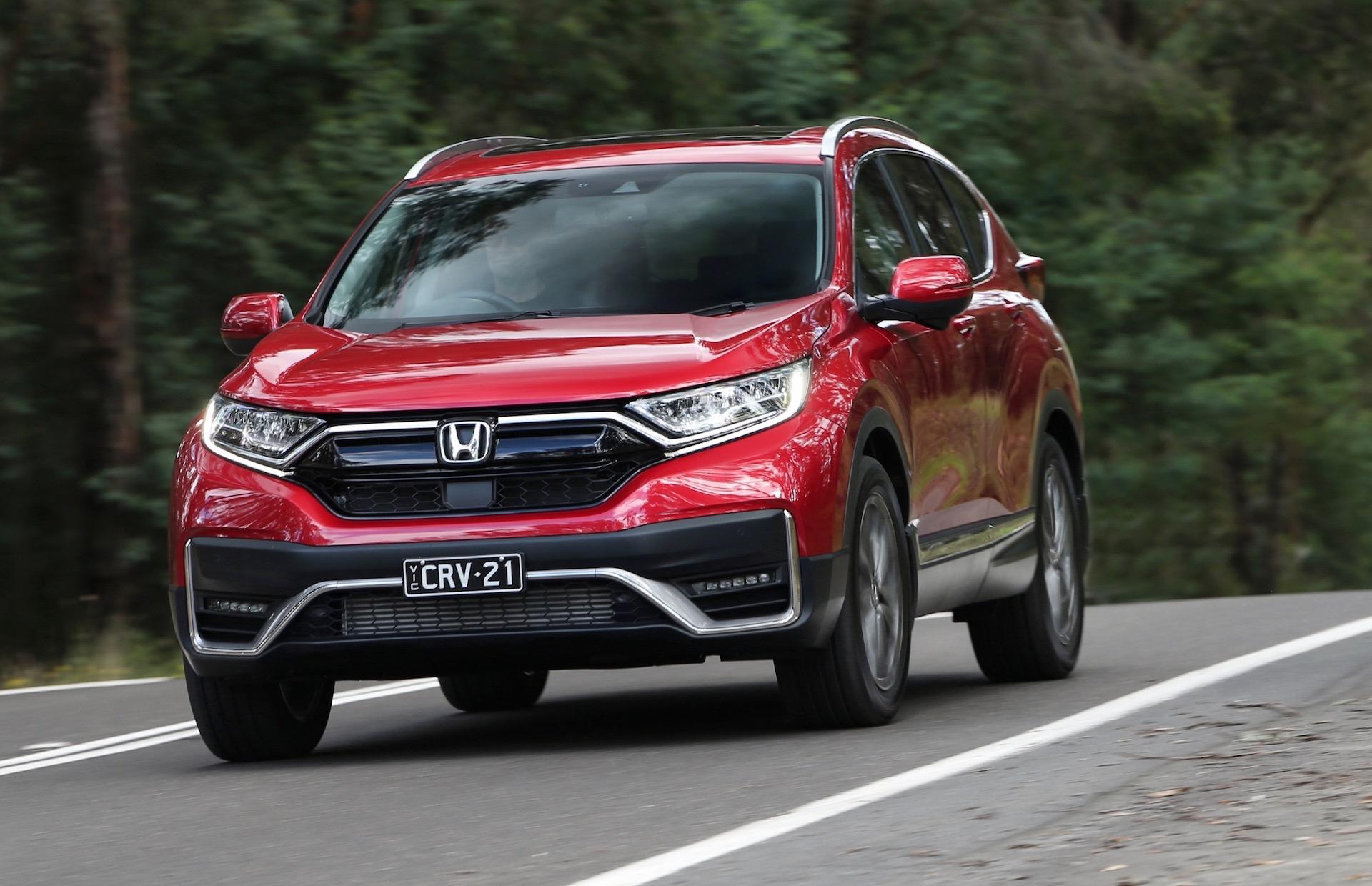 2021 Honda CR-V update announced for Australia