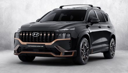 2021 Hyundai Santa Fe gets racy N Performance package
