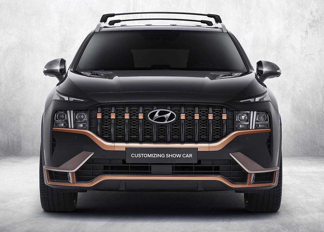 2021 Hyundai Santa Fe Gets Racy N Performance Package