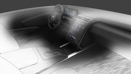 2021 Hyundai Tucson 'NX4' interior previewed, official sketch?