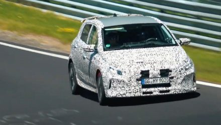 2021 Hyundai i20 N prototype spotted again, looks fast (video)