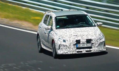 2021 Hyundai i20 N prototype spotted again, looks fast (video)
