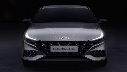 2021 Hyundai i30 Sedan N Line teaser - 4