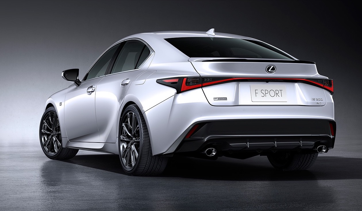 Lexus IS500 trademark surfaces - V8 or twin-turbo V6 ...