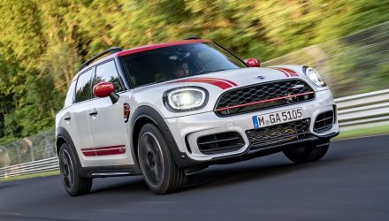2021 MINI Countryman JCW revealed, arrives in Australia Q4