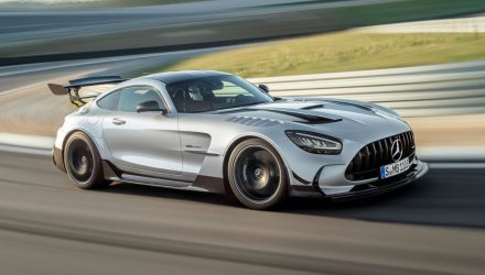 Mercedes-AMG GT Black Series unveiled, most powerful V8 yet