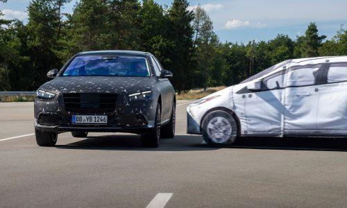 2021 Mercedes-Benz S-Class previews ground-breaking tech