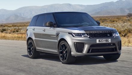 2021 Range Rover Sport revealed, debuts SVR Carbon Edition
