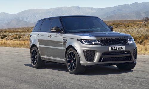 2021 Range Rover Sport revealed, debuts SVR Carbon Edition