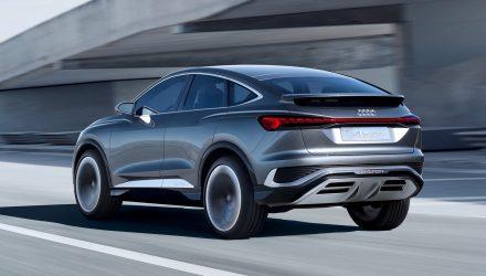 Audi Q4 Sportback e-tron concept-back