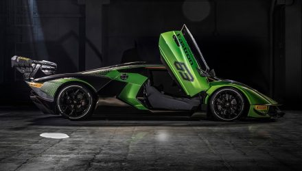 Lamborghini Essenza SCV12 track car debuts, most powerful V12 ever