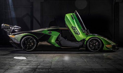 Lamborghini Essenza SCV12 track car debuts, most powerful V12 ever