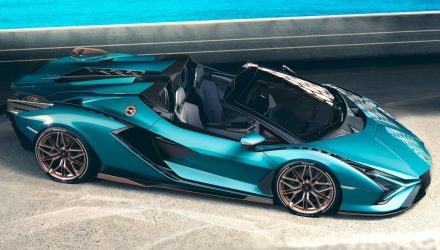 Lamborghini Sian Roadster revealed, most powerful drop-top ever