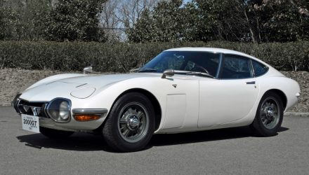 Toyota reproducing 2000GT parts, available to owners only