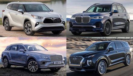 Top 10 best 7-seat SUVs coming to Australia in 2021