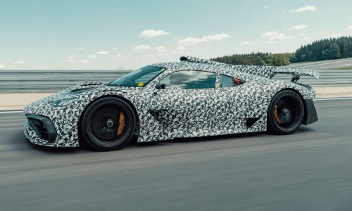 Mercedes-AMG Project ONE development continues, Nurburgring next