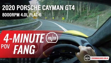 Video: 2020 Porsche 718 Cayman GT4 – Four-minute fang (POV)
