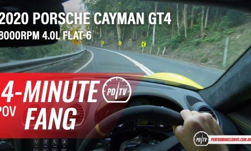 Video: 2020 Porsche 718 Cayman GT4 – Four-minute fang (POV)