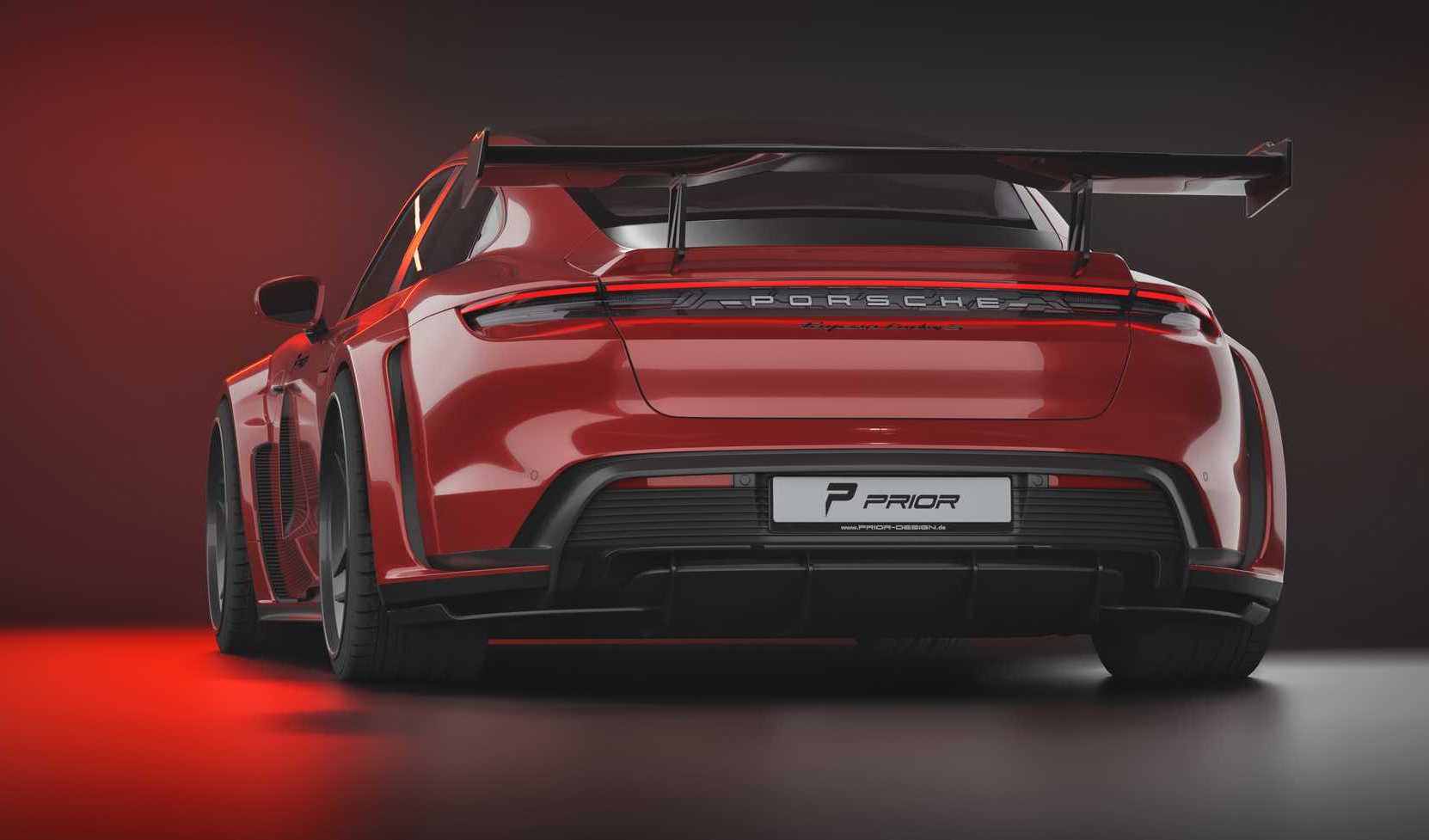 Prior Design Creates Awesome Wide Body Kit For Porsche Taycan Performancedrive
