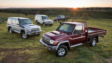 Toyota LandCruiser 70 Series updated for 2020, adds touchscreen