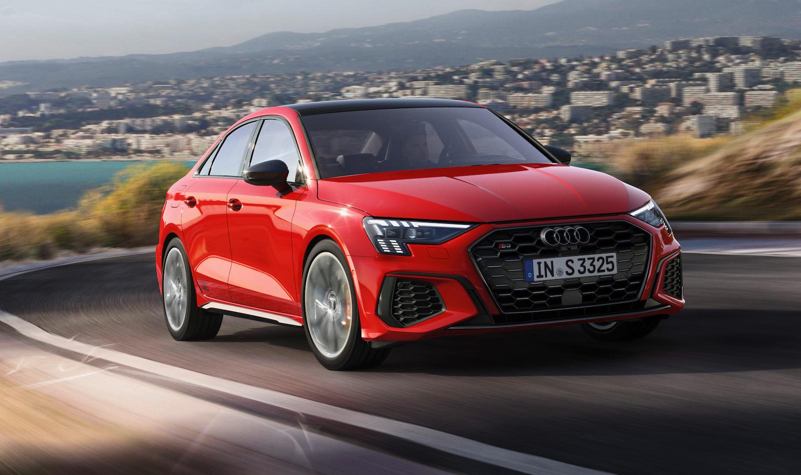 2021 Audi S3 Sportback and sedan unveiled   PerformanceDrive