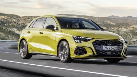2021 Audi S3 Sportback and sedan unveiled