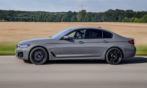 BMW unveils potent 545e xDrive hybrid with inline-6 turbo