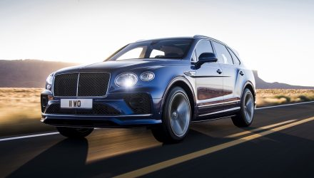 2021 Bentley Bentayga Speed debuts, fastest SUV in the world