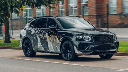 2021 Bentley Bentayga Speed previewed, debuts August 12