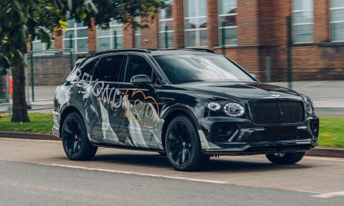 2021 Bentley Bentayga Speed previewed, debuts August 12