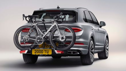 2021 Bentley Bentayga debuts new accessories, Akrapovic exhaust