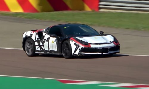 Is this the makings of a Ferrari V6 hybrid, new Dino? (video)