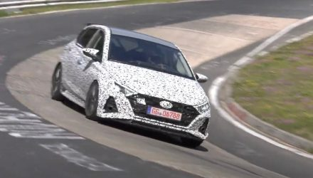2021 Hyundai i20 N spotted, looks sharper than ever (video)