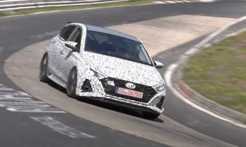 2021 Hyundai i20 N spotted, looks sharper than ever (video)