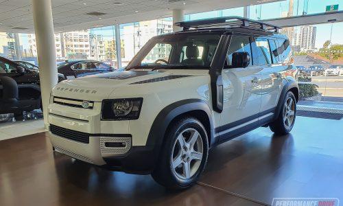 First 2020 Land Rover Defender 110 models land in Australia