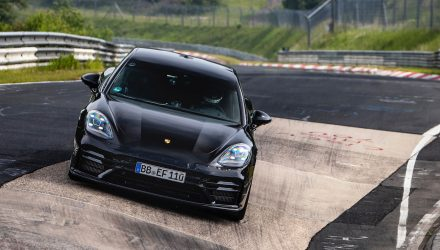 Porsche sets Nurburgring record in 2021 Panamera (video)