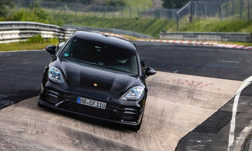 Porsche sets Nurburgring record in 2021 Panamera (video)